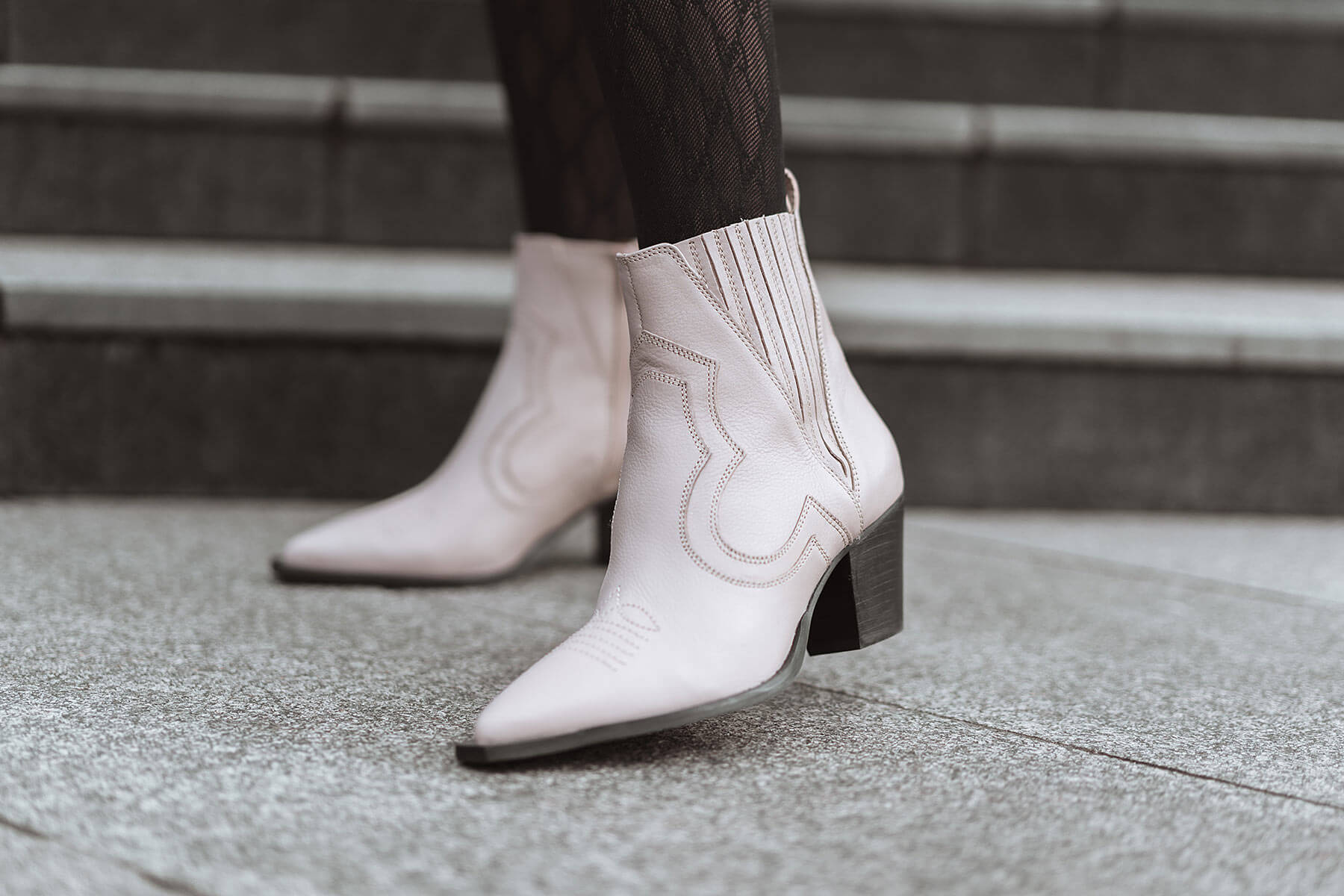 cowboy-boots rosa schuhtrend office london sunnyinga