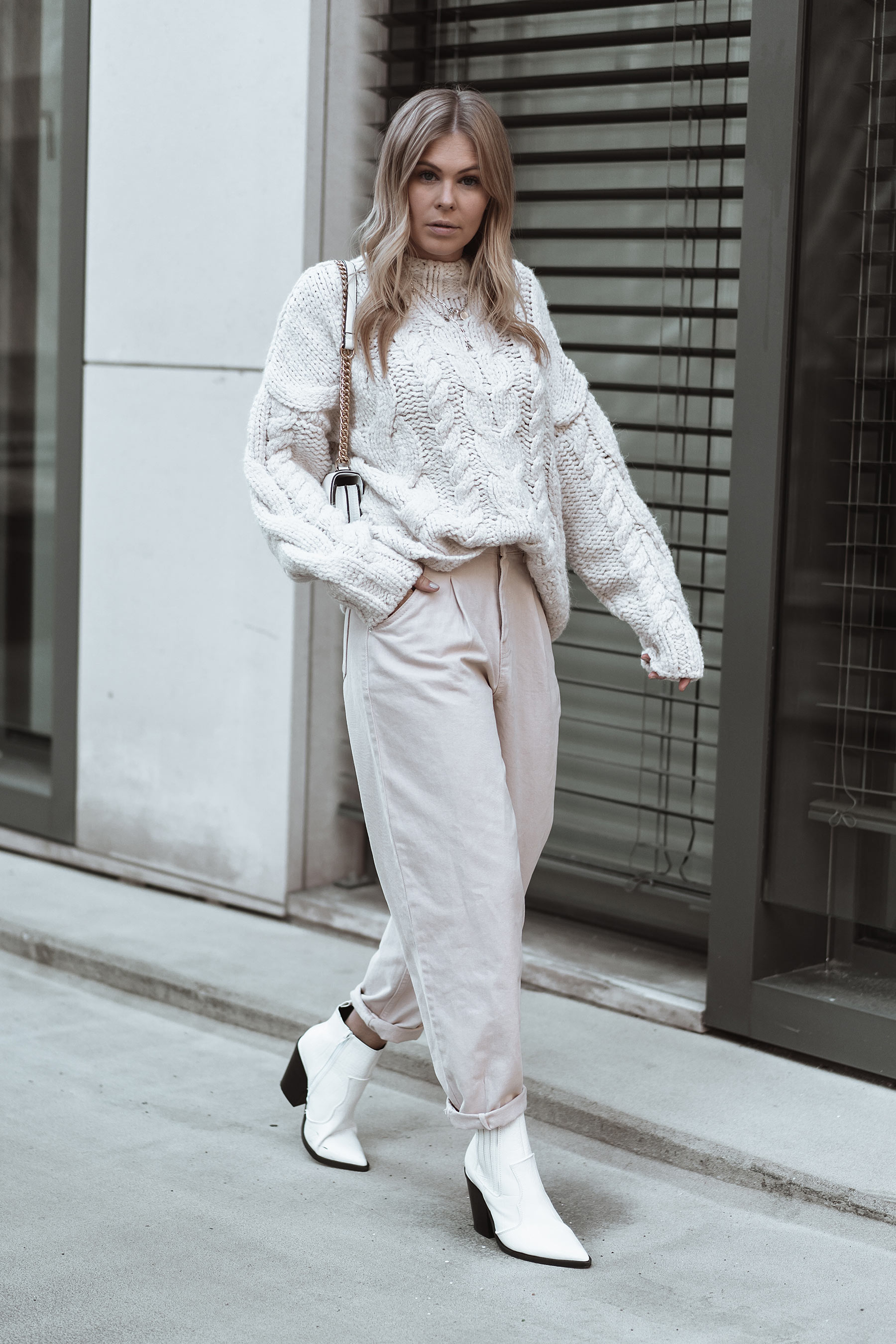 fashion blogger herbst outfit inga brauer cable knit