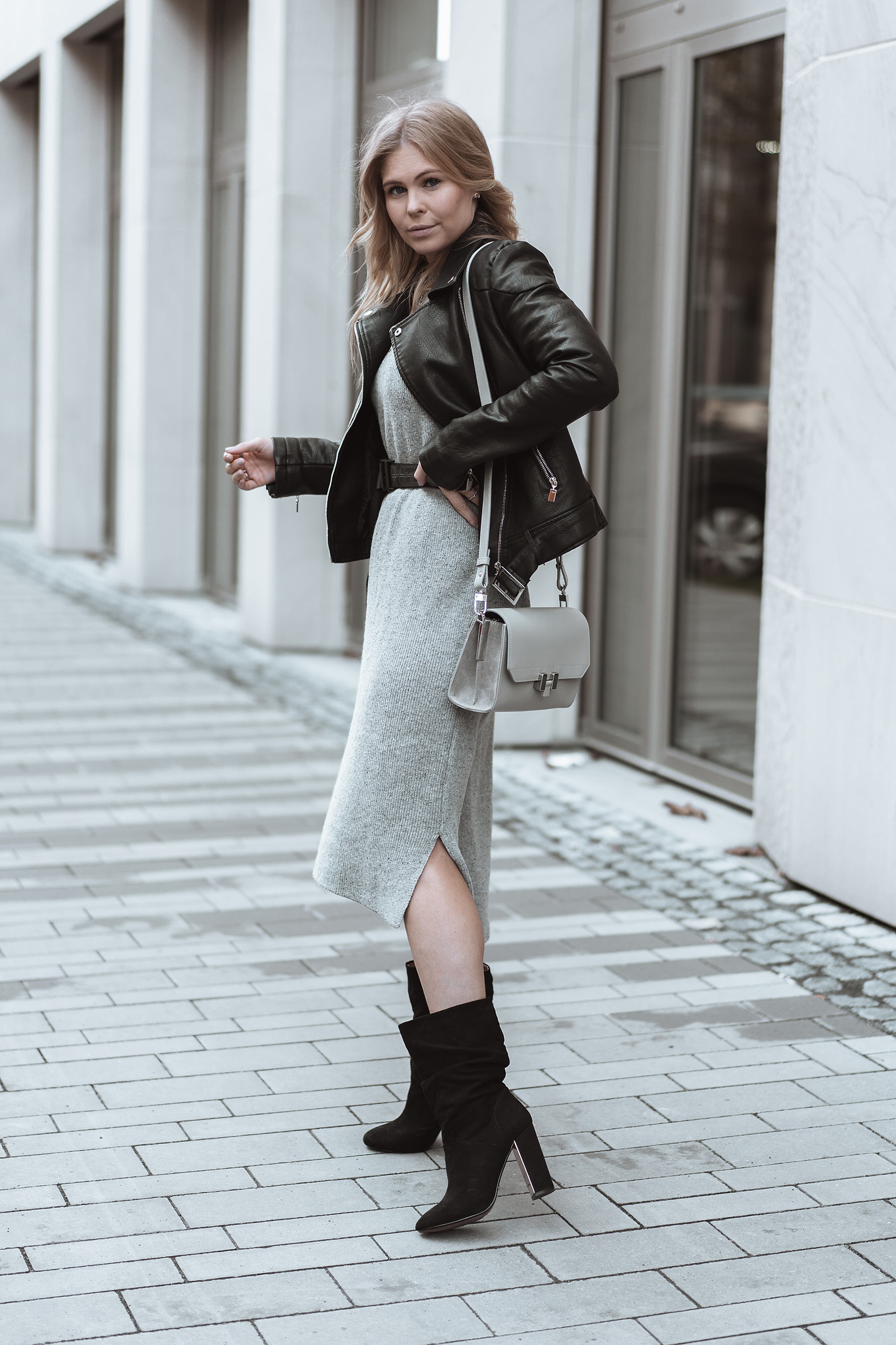 fashion blogger inga brauer streetstlye strickkleid