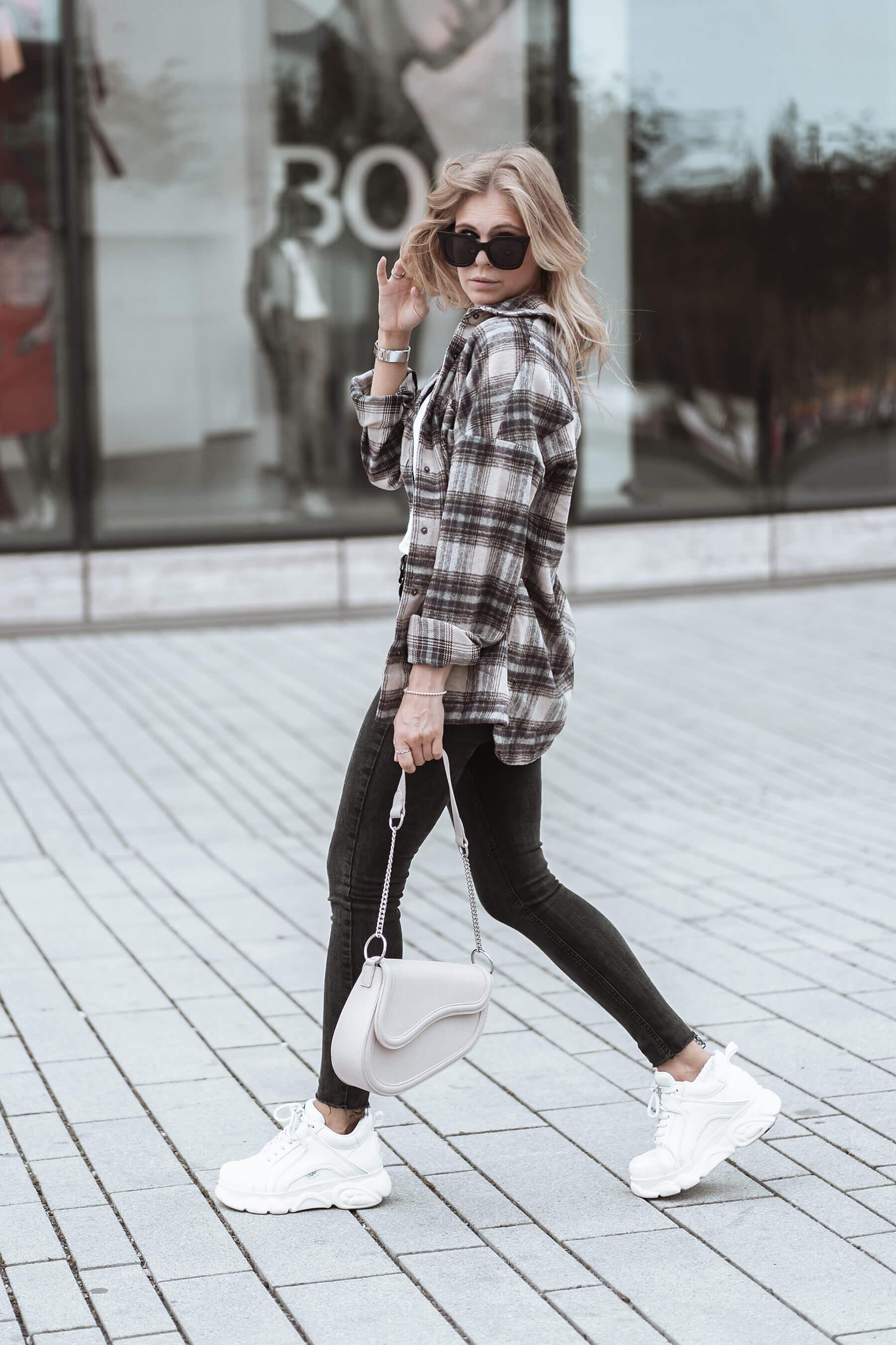 flanellhemd frauen kombinieren outfit blogger inga brauer