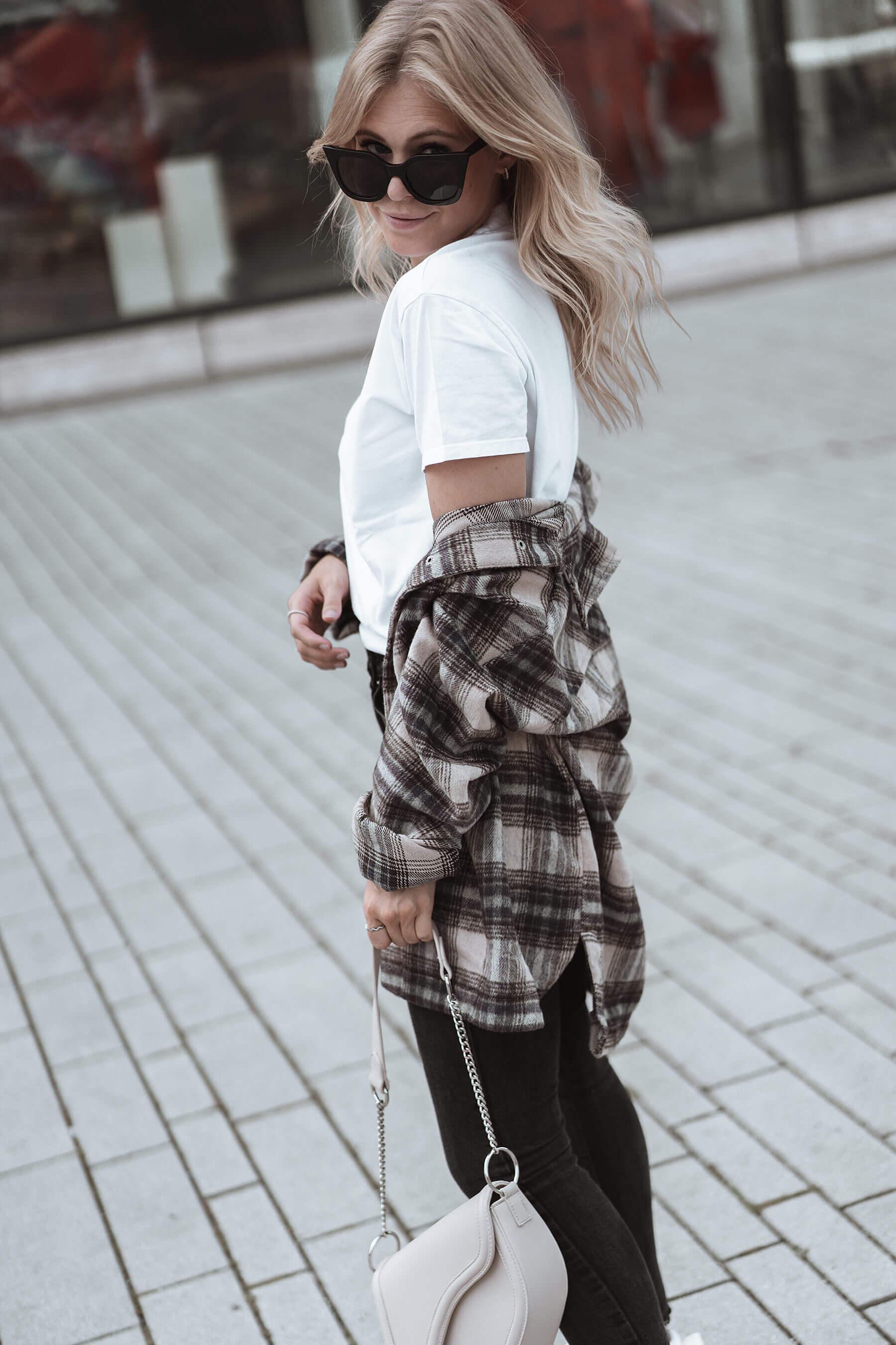 inga brauer karohemd outfit mode blog trend sunnyinga