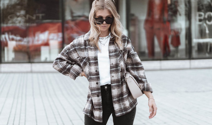 karohemd frauen outfit fashion blogger inga brauer sunnyinga