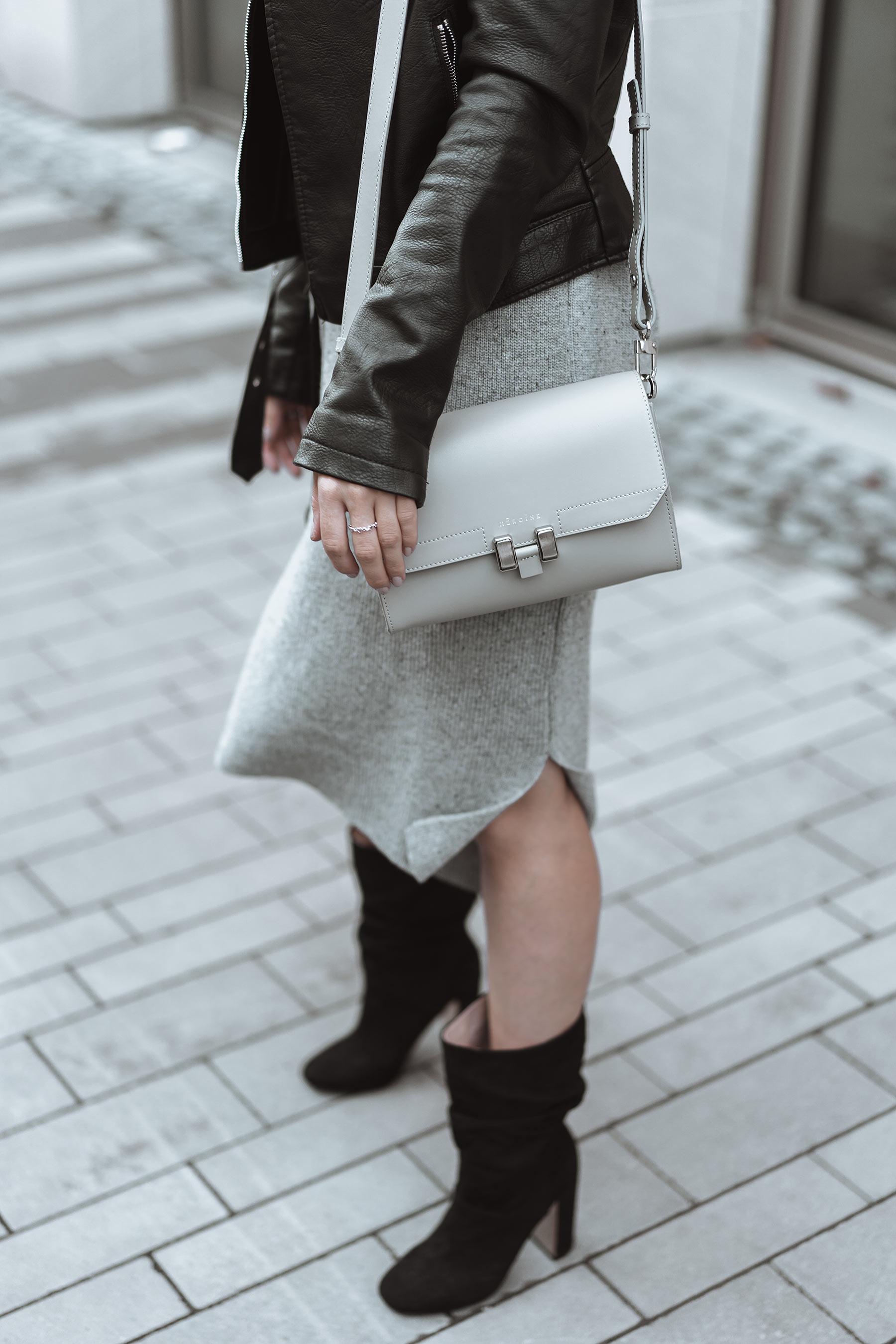 mainson heroine tasche grau fashion blogger inga brauer
