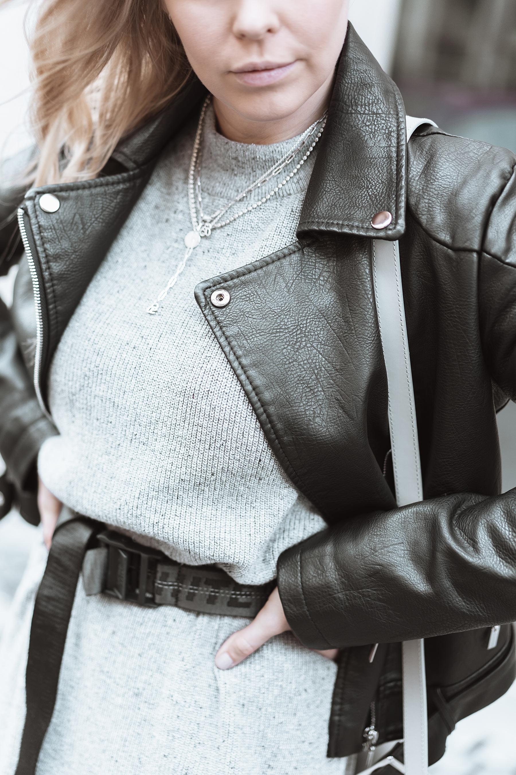 outfit details grau schwarz fashion blog sunnyinga