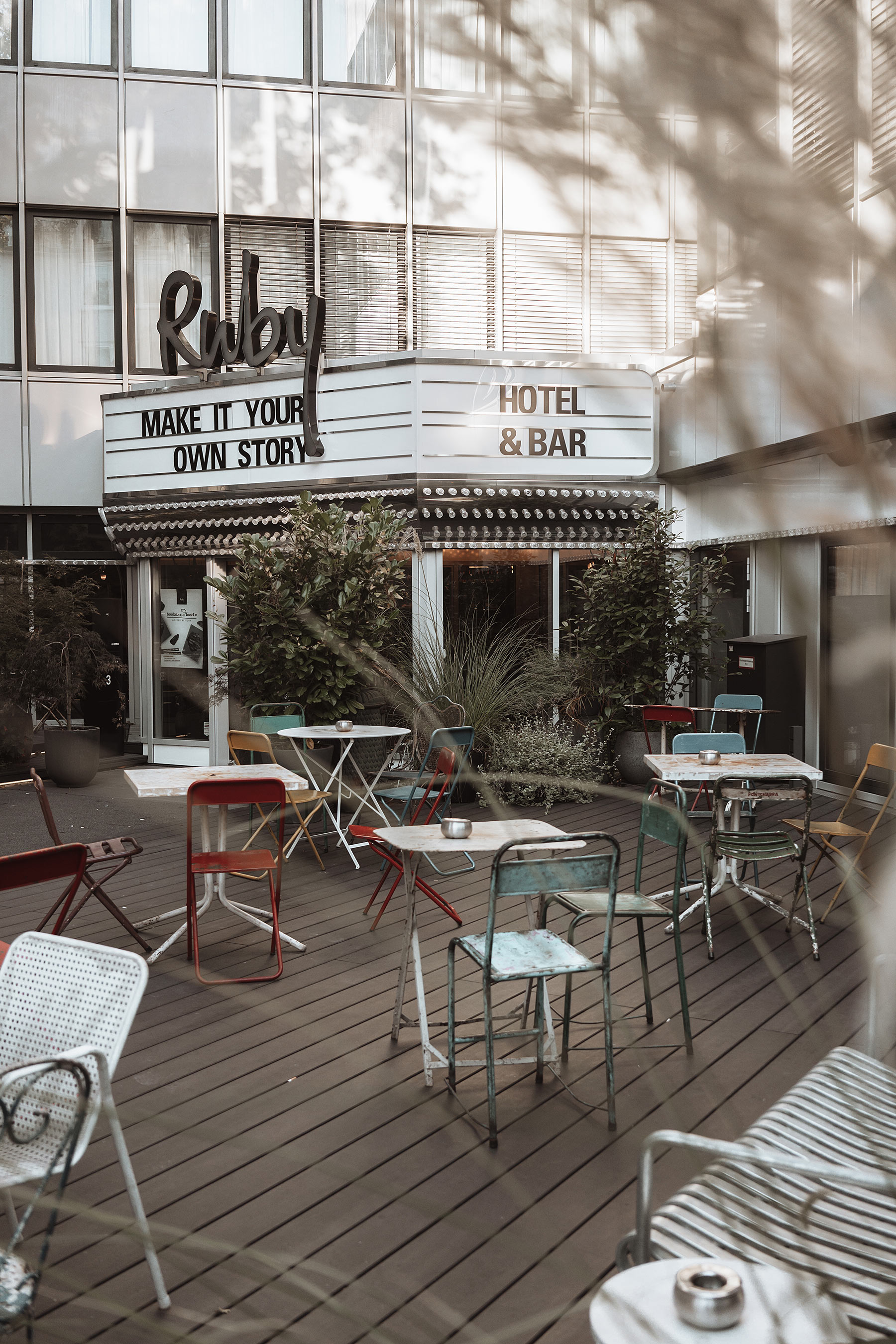 terrasse ruby leni hotel düsseldorf sunnyinga