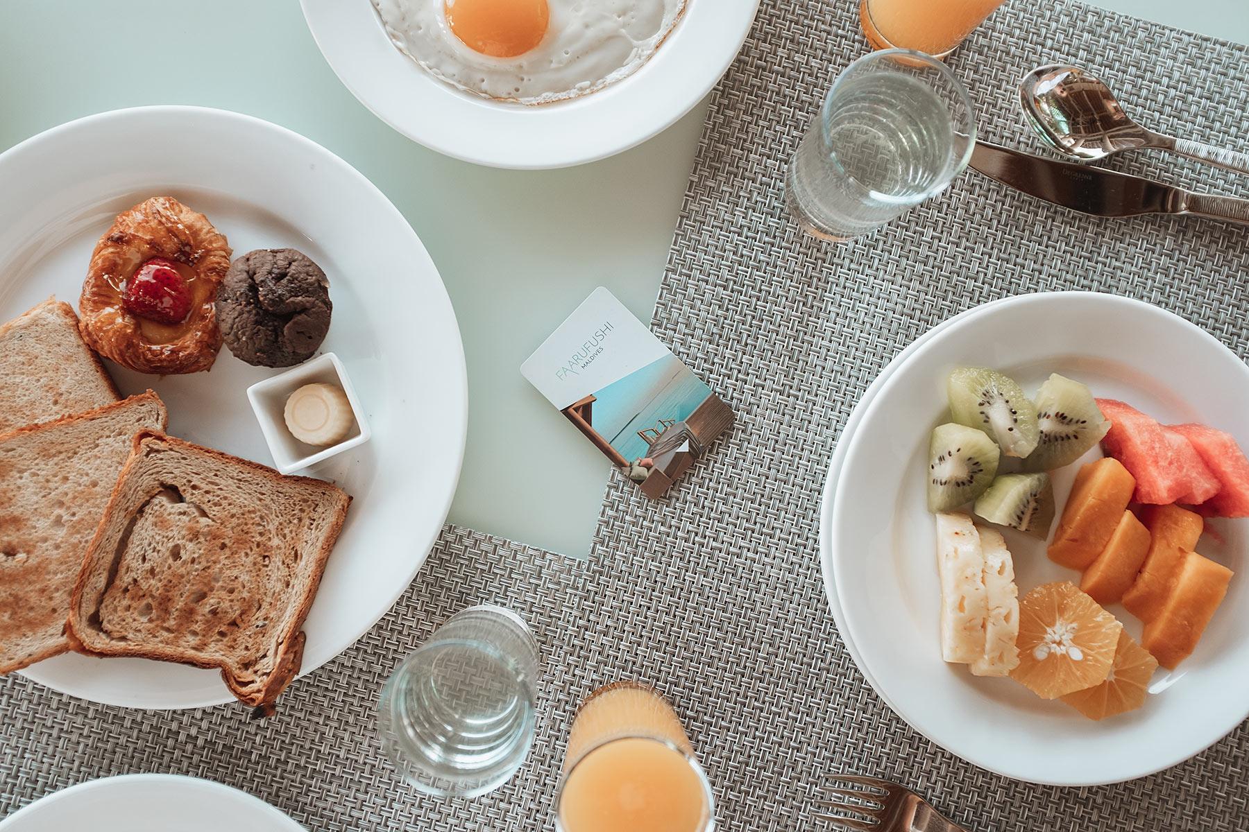 faarufushi maldives breakfast travel blog sunnyinga