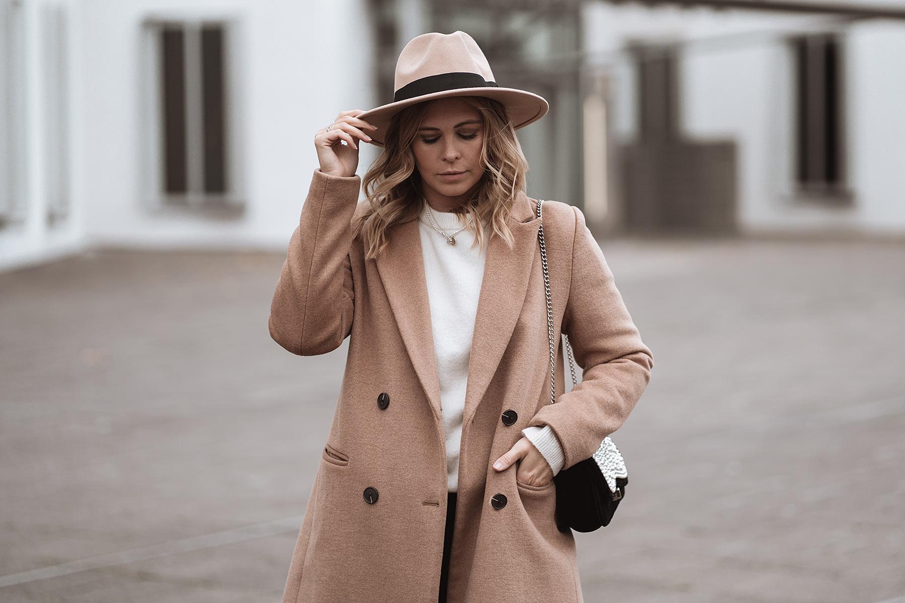 blogger outfit filzhut damen sunnyinga