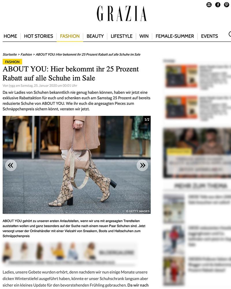 grazia snake boots fashion blogger inga brauer düsseldorf