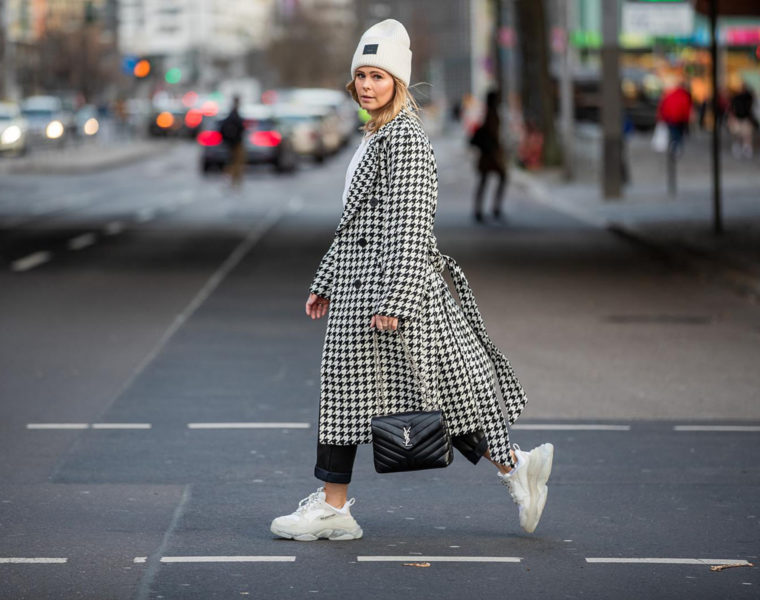 hahnentritt-mantel outfit h&m fashion blogger inga brauer