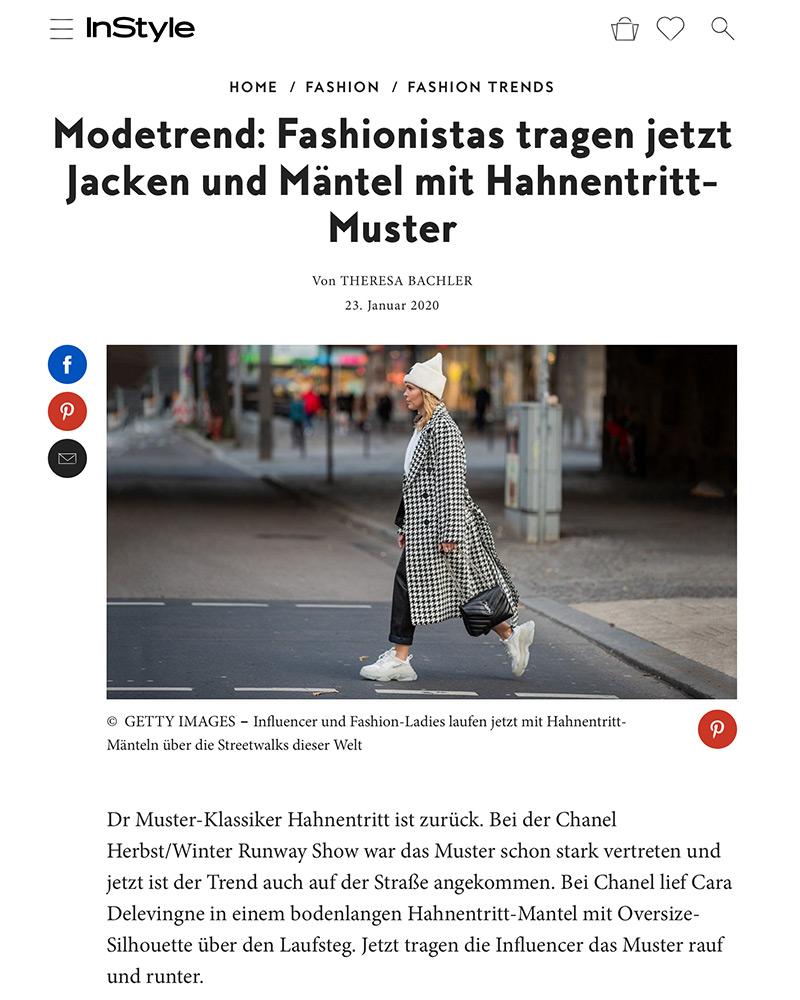 instyle hahnentritt mantel fashion blogger inga brauer
