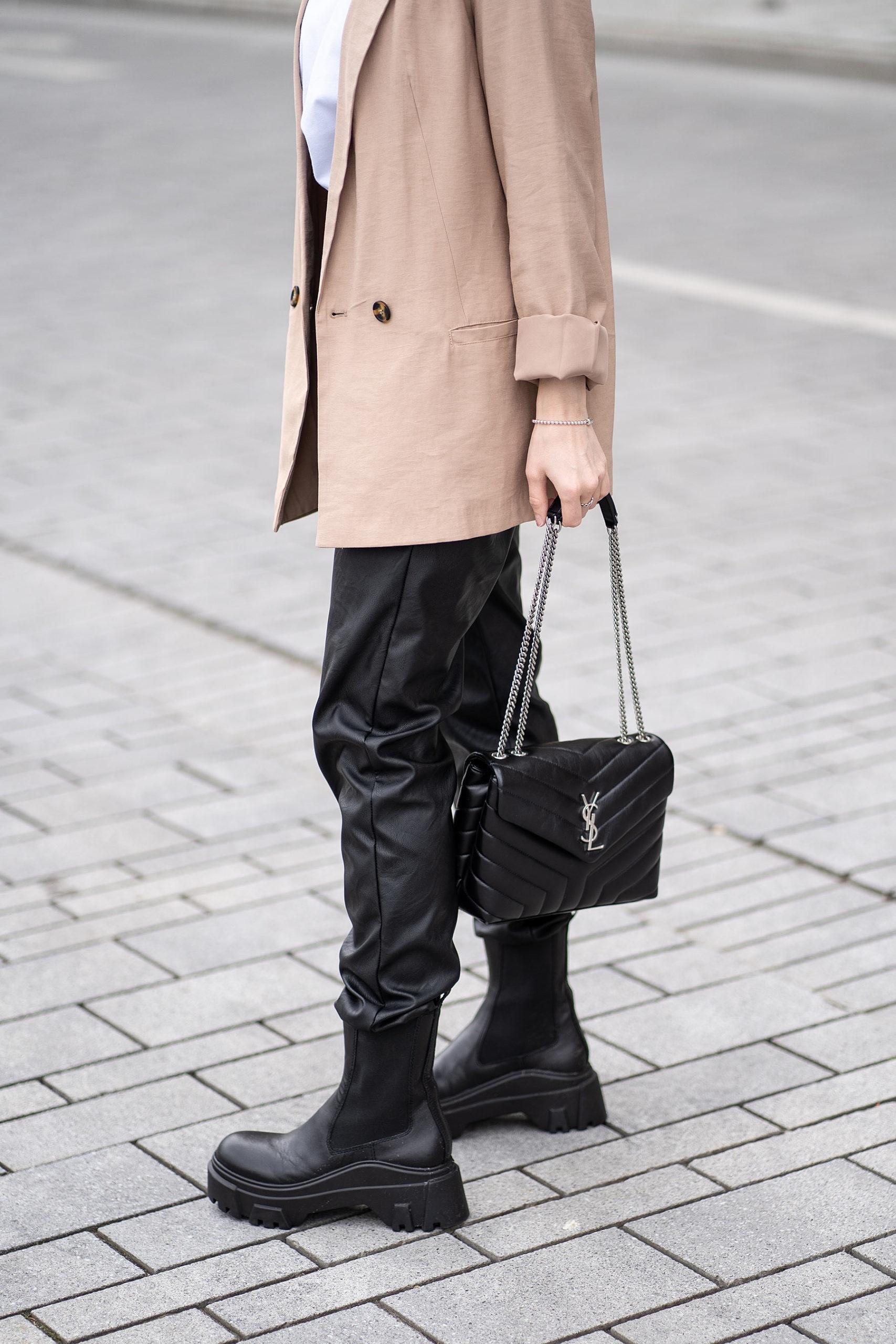 chelsea boots schwarz outfit fashion blog sunnyinga