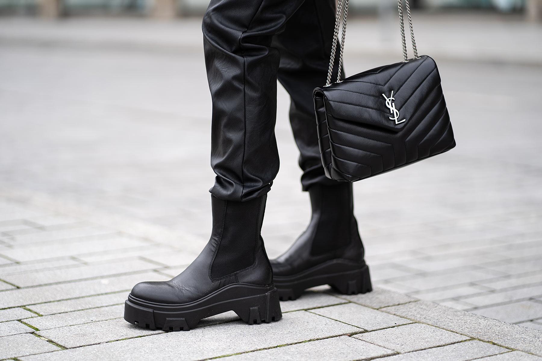 military boots schwarz trend frühling fashion sunnyinga