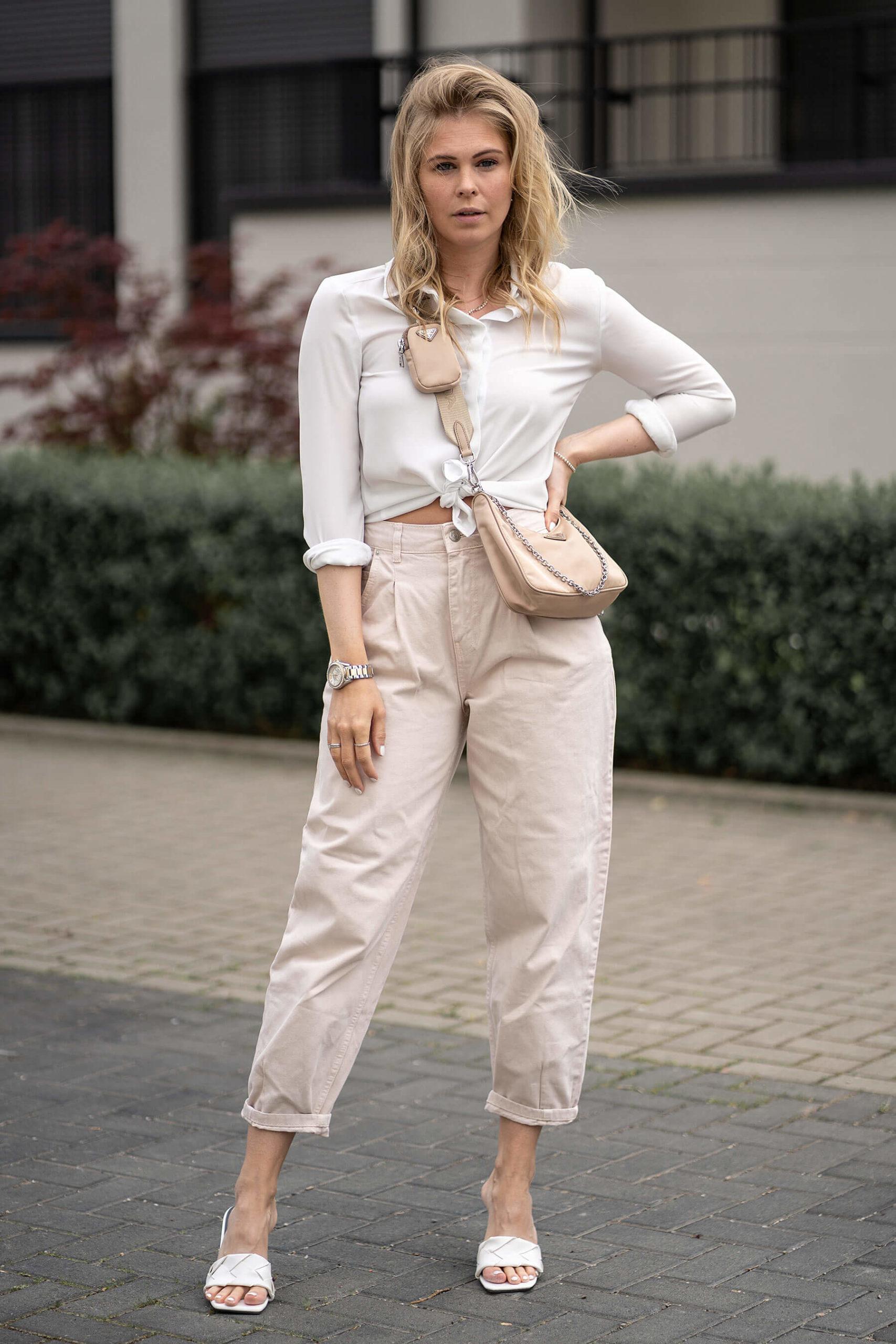 fashion blogger düsseldorf inga brauer streetstyle sommer outfit beige