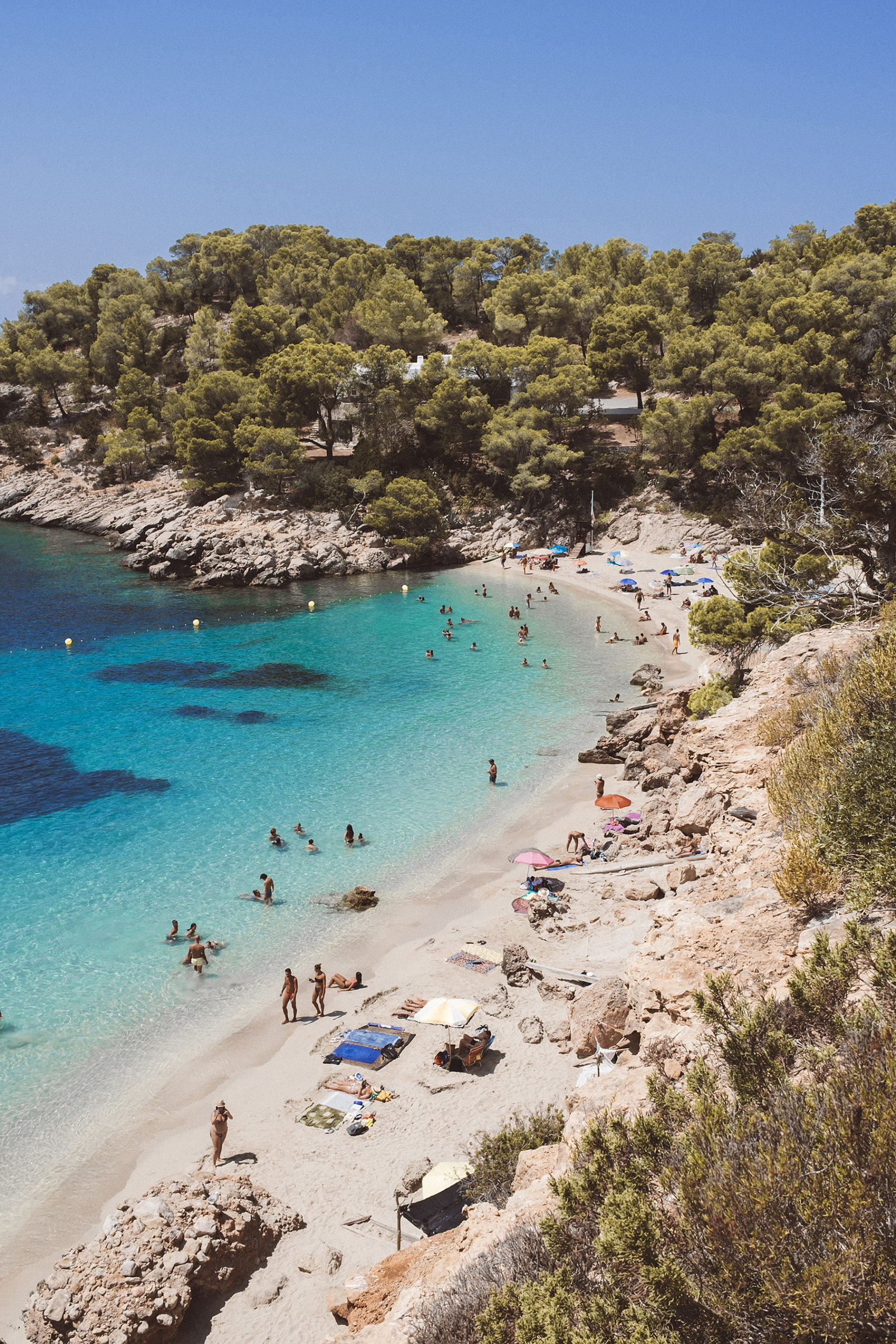 cala salada ibiza strand travel blog sunnyinga