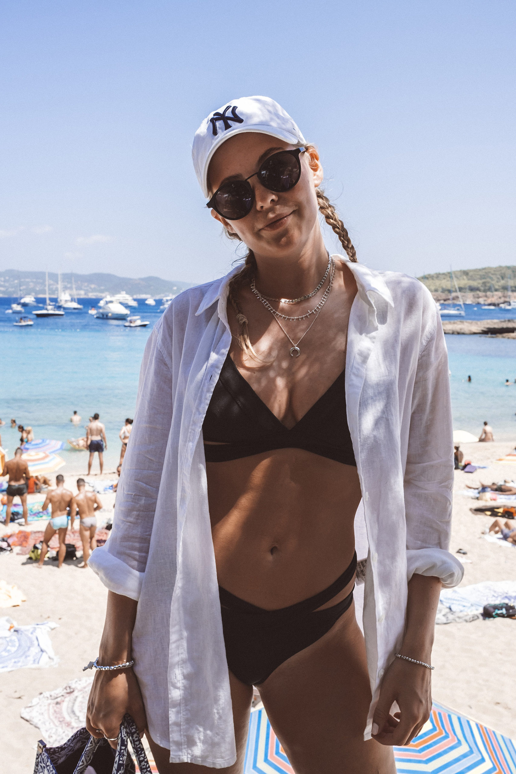 ibiza travel blogger cala bassa sunnyinga