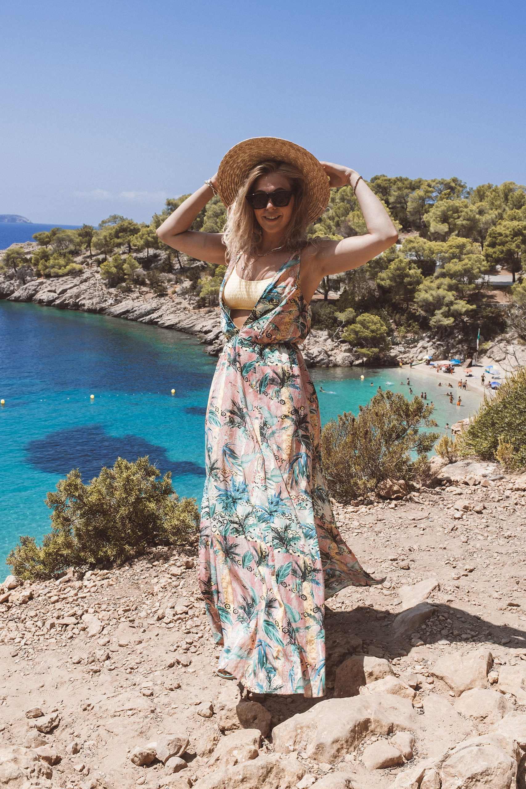 travel blogger ibiza sunnyinga cala salada