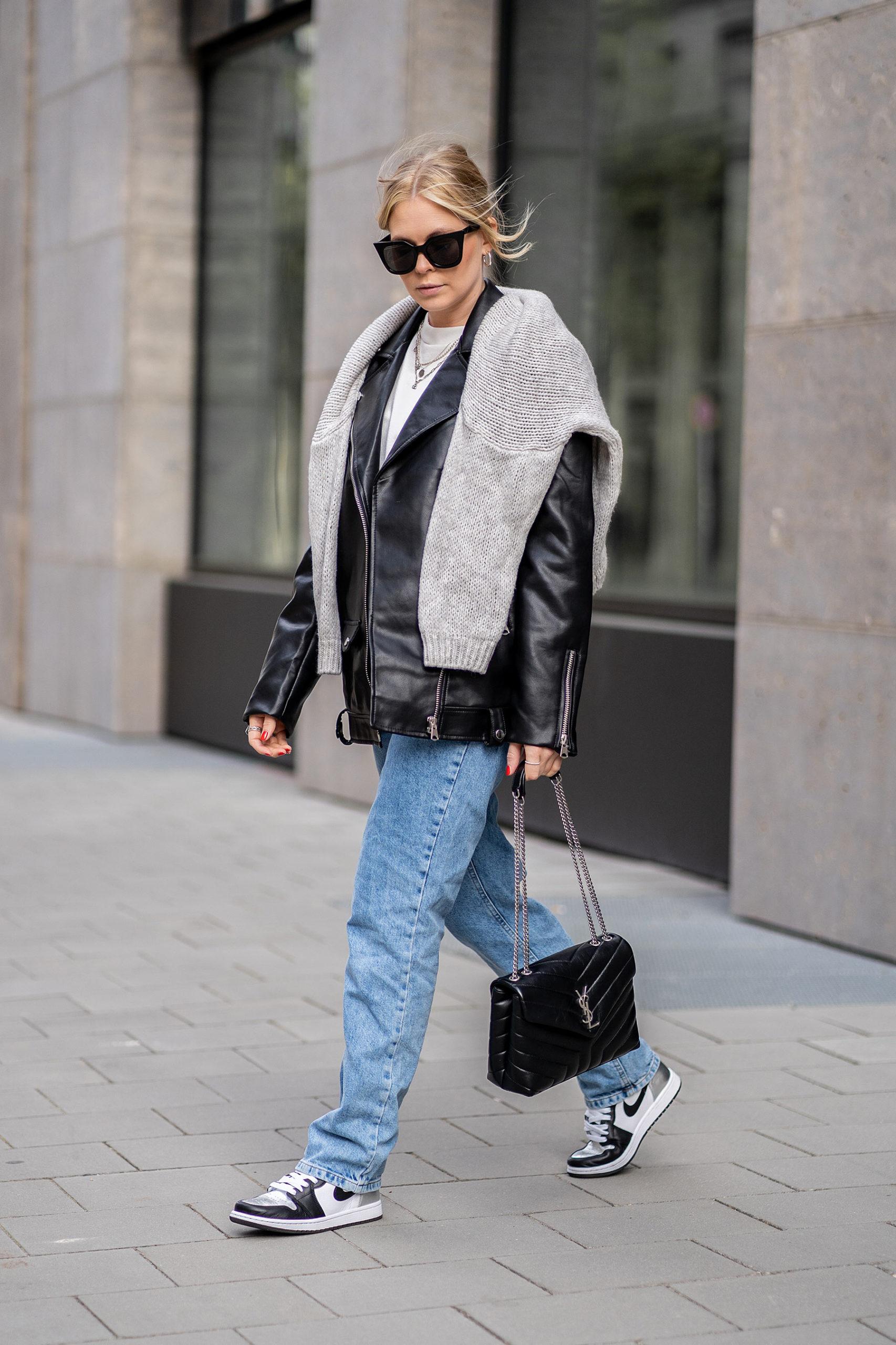 streetstyle düsseldorf outfit fashion blogger lederjacke inga brauer