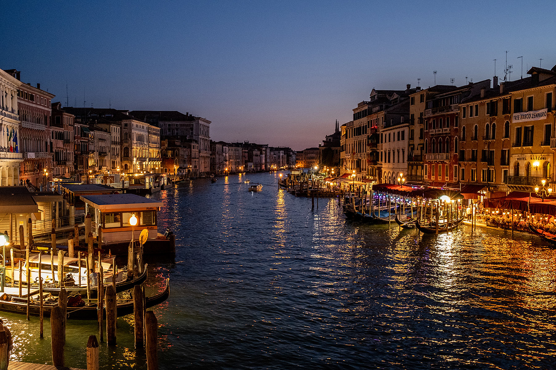 abend venedig canal grande abendstimmung travel blog sunnyinga