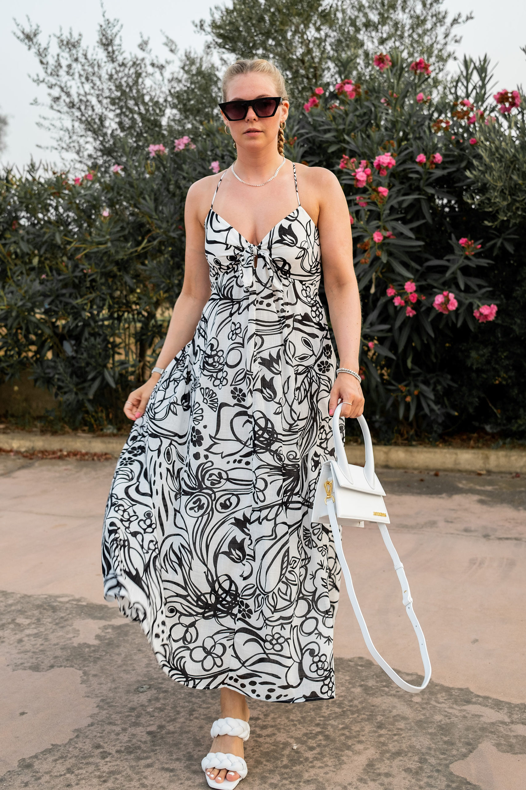 kleid outfit fashion blogger inga brauer dinner urlaub