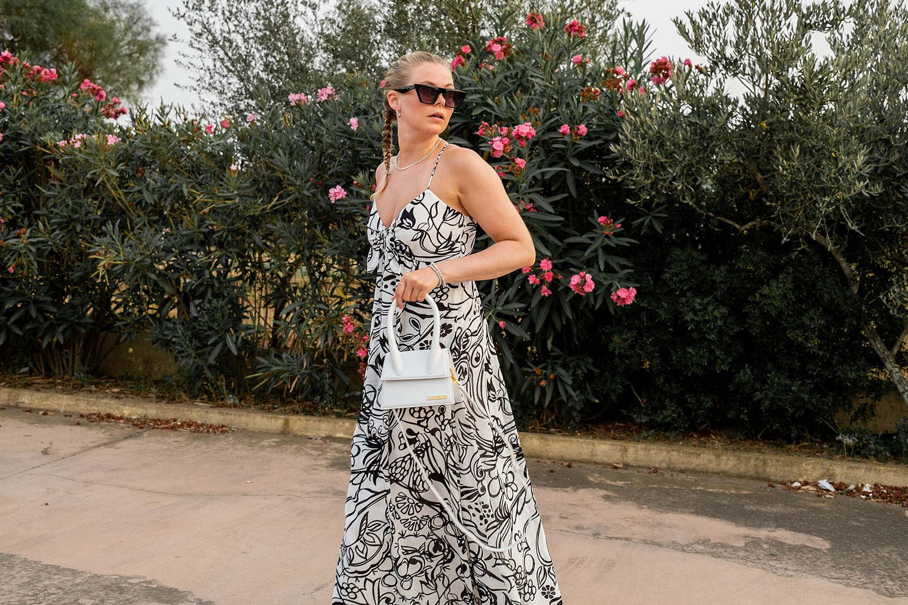 outfit urlaub langes kleid dinner fashion blog inga brauer