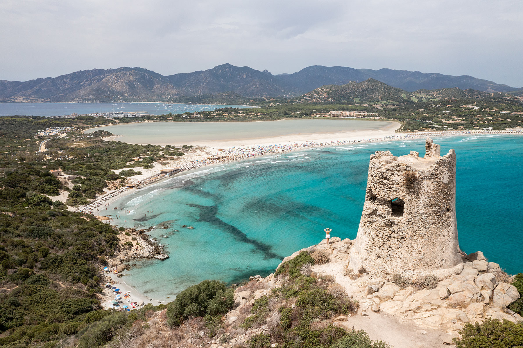sardinien porto giunco strand villasimius süden travel blog sunnyinga