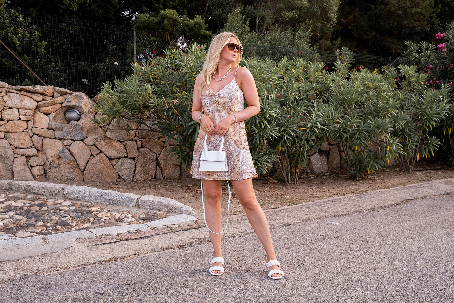 slip dress paisley muster fashion blogger ingabrauer sunnyinga