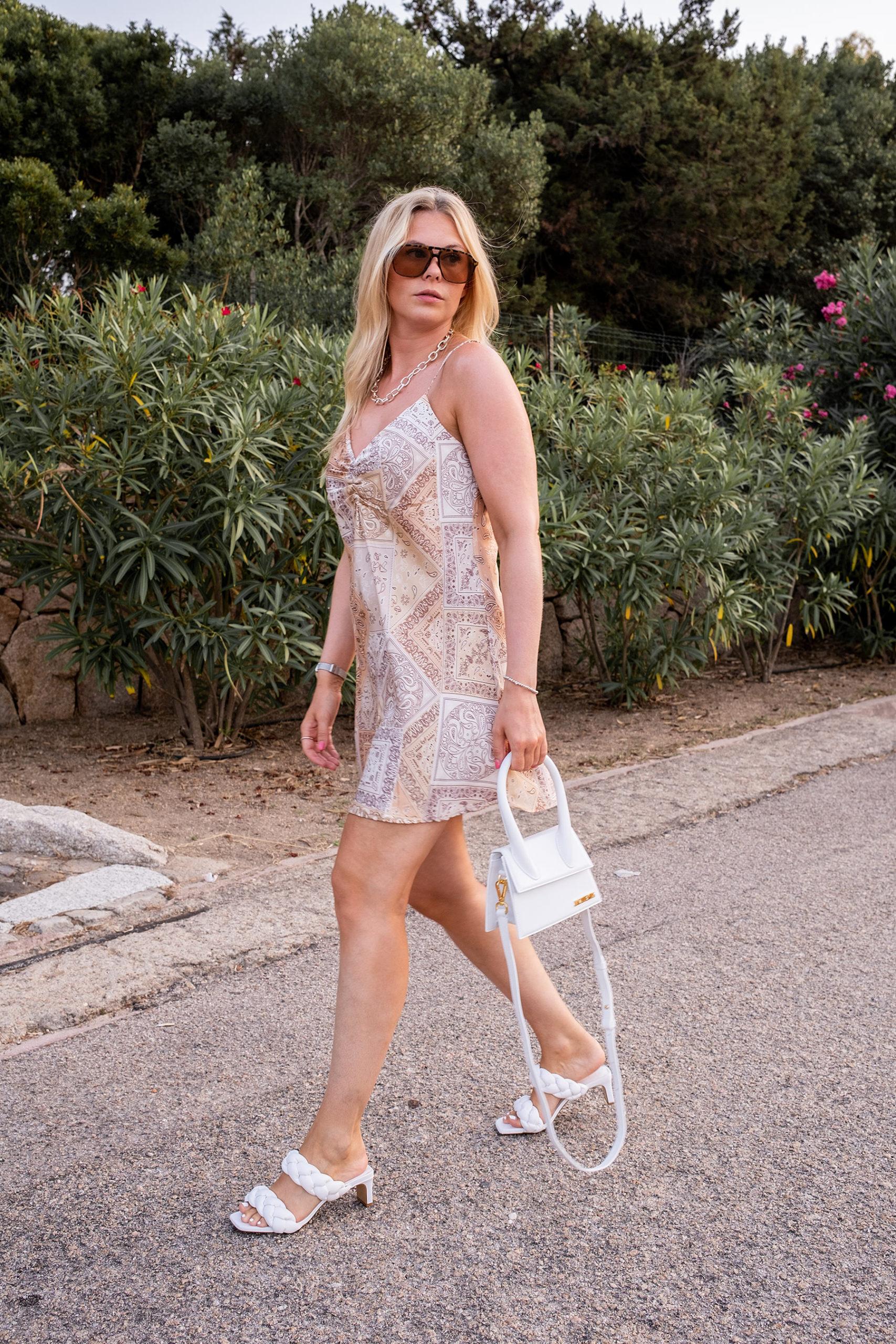 slipkleid paisley muster outfit dinner fashion blog sunnyinga