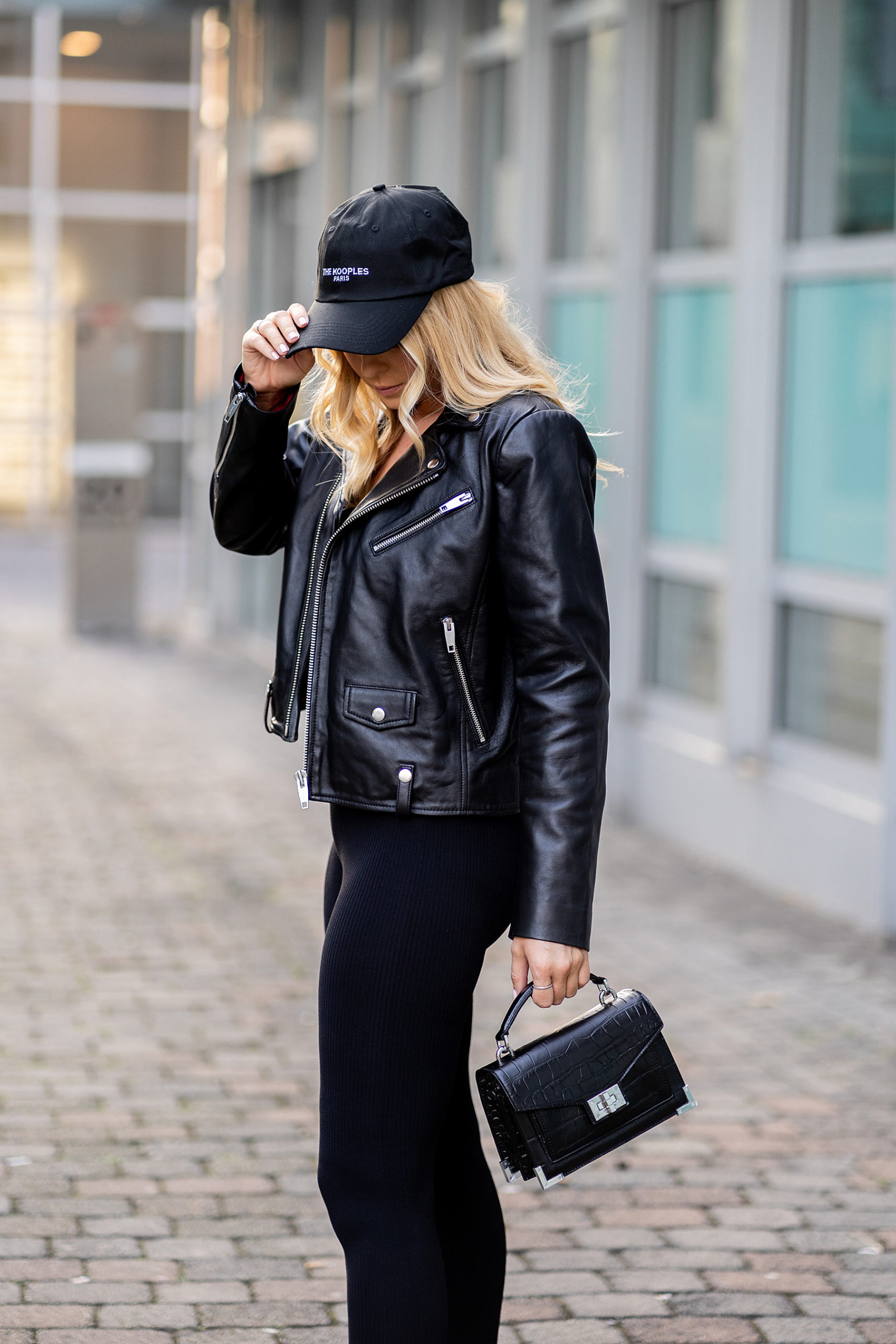 by the kooples all black outfit fashion blogger inga brauer