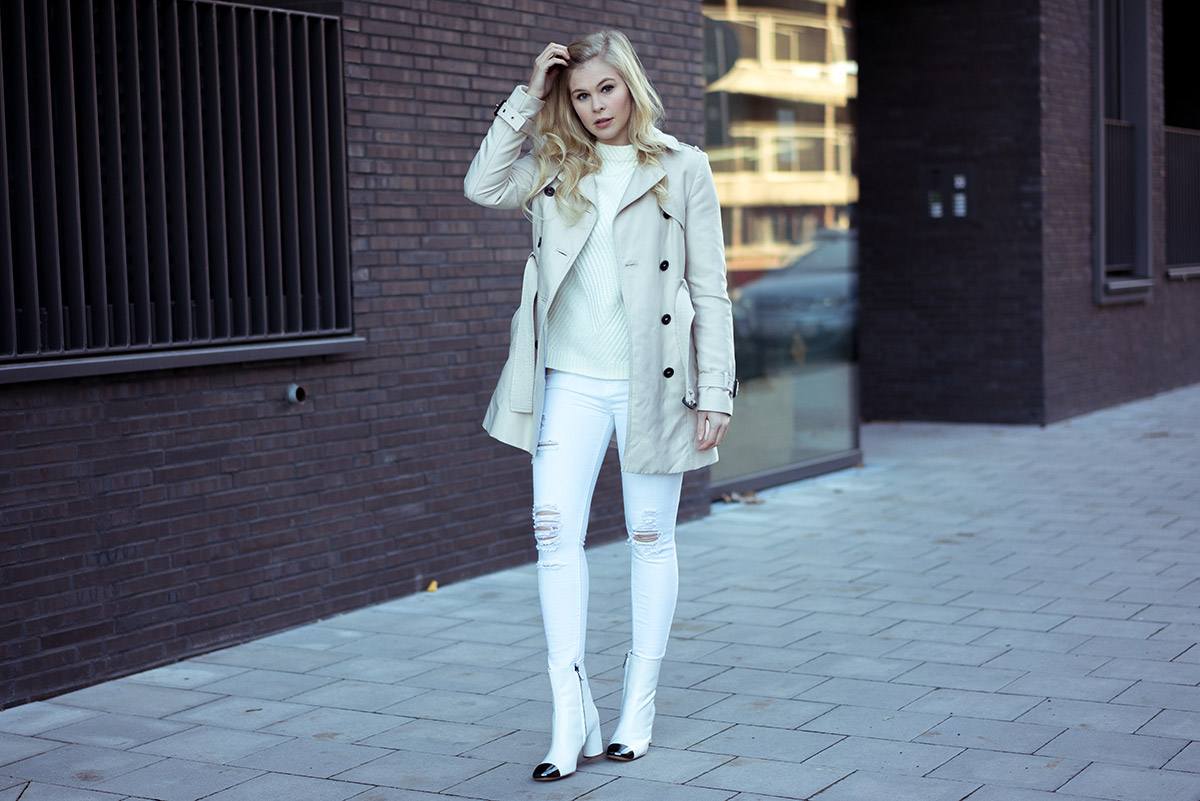 All White Outfit Bloggerin