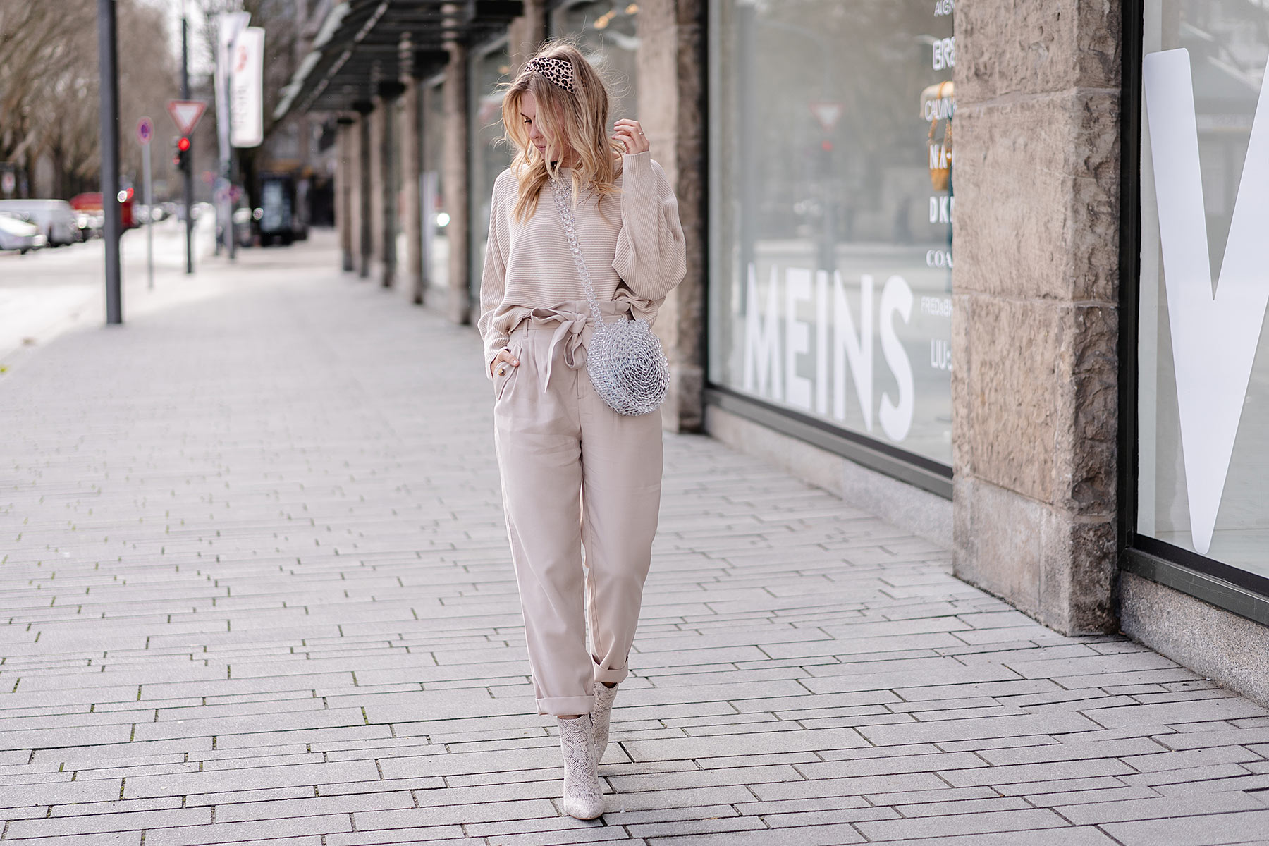all over beige outfit fashion blogger düsseldorf sunnyinga
