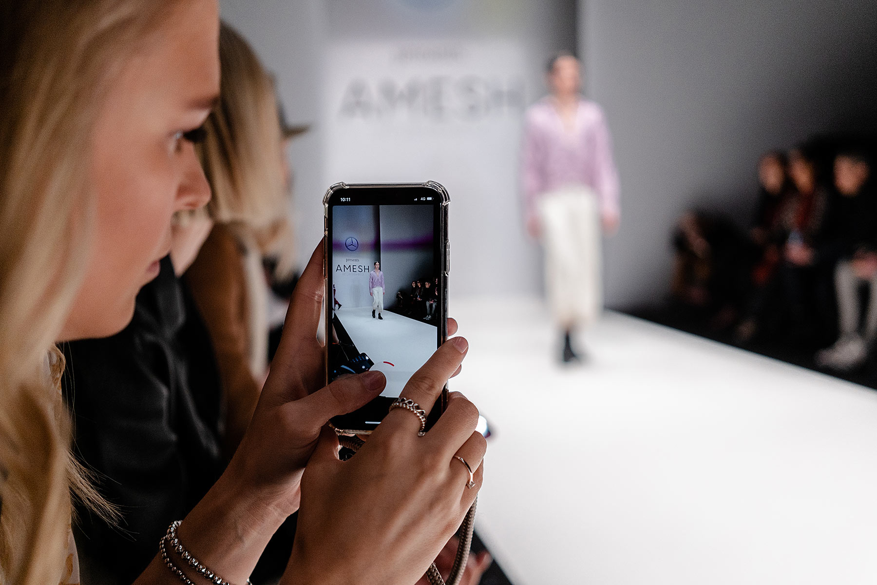 amesh wijesekera show berlin mbfw fashion blogger sunnyinga