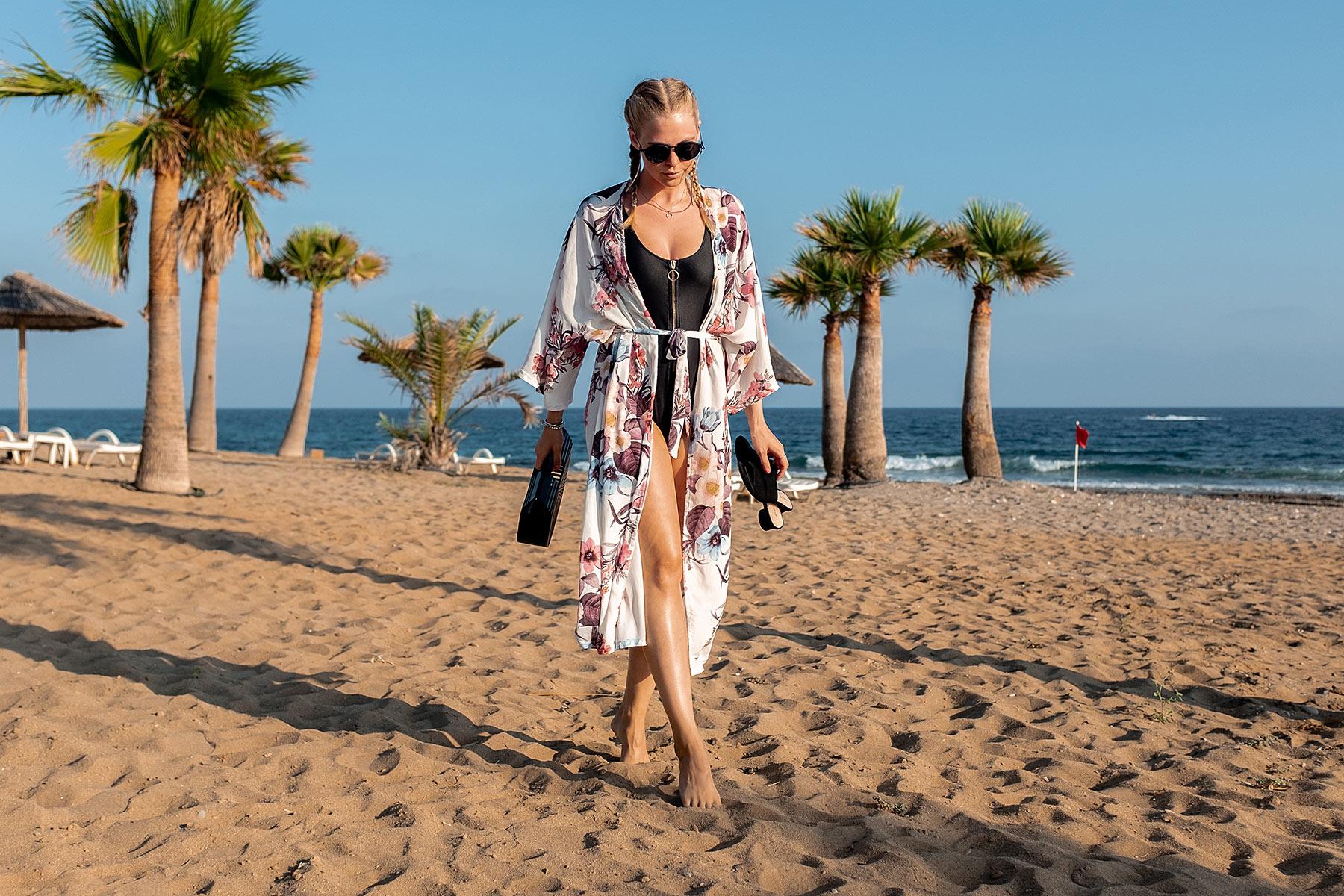 badeanzug outfit beach fashion blog sunnyinga