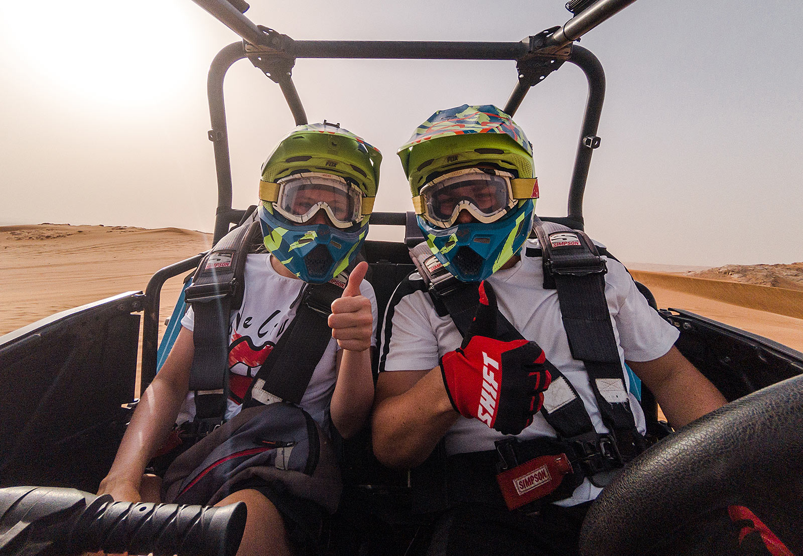 big red dxb buggy tour desert dubai travel blog sunnyinga