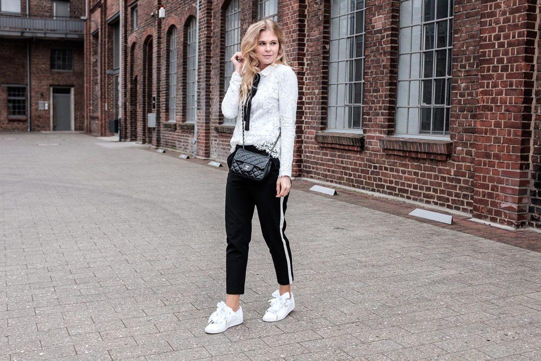 Black and White Outfit Sunnyinga Fashionblog Düsseldorf