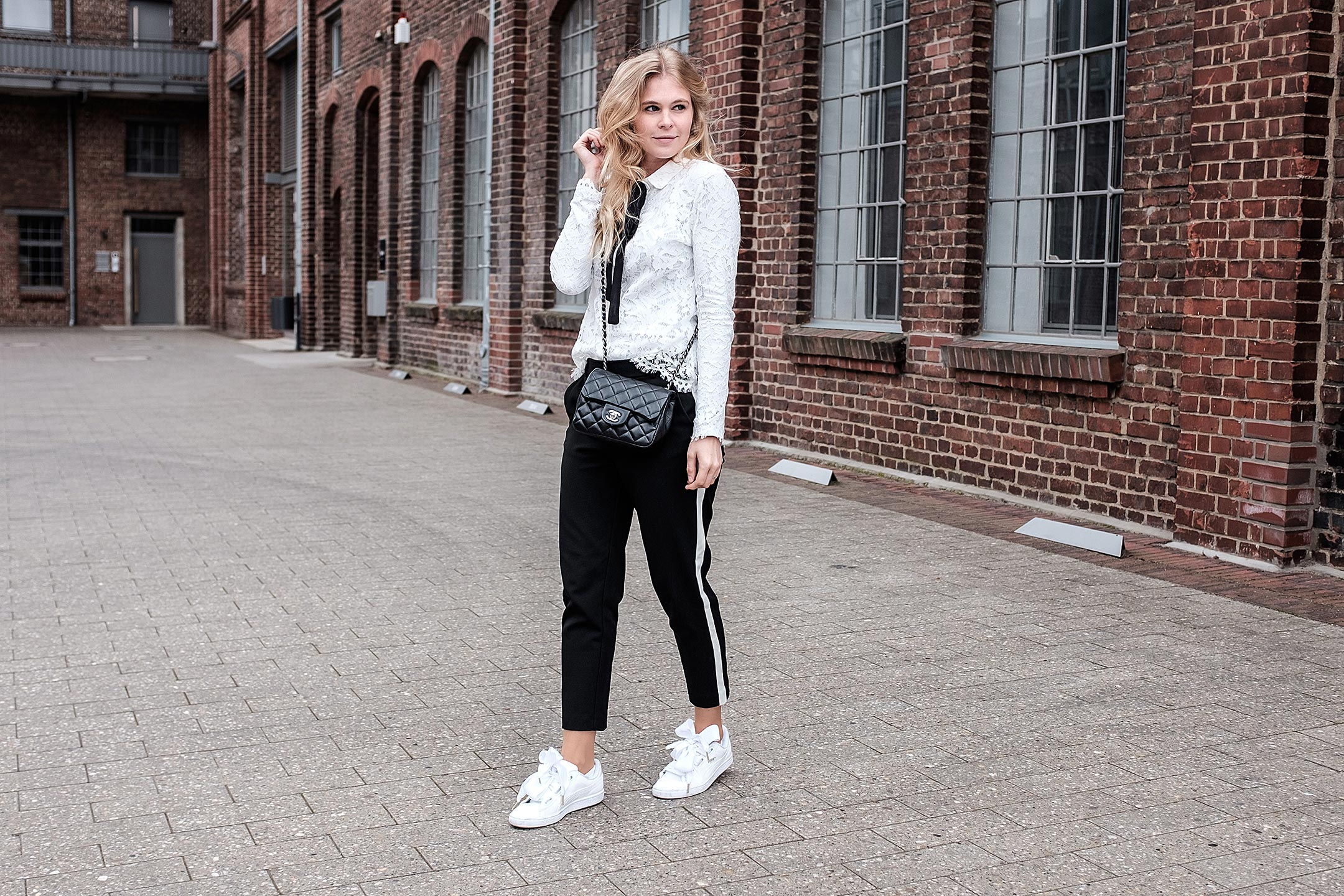 Black and White Outfit Sunnyinga Fashionblog Düsseldorf