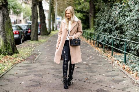 Camel Coat Outfit kombinieren Herbst Streetstyle Fashion Blog Düsseldorf Sunnyinga