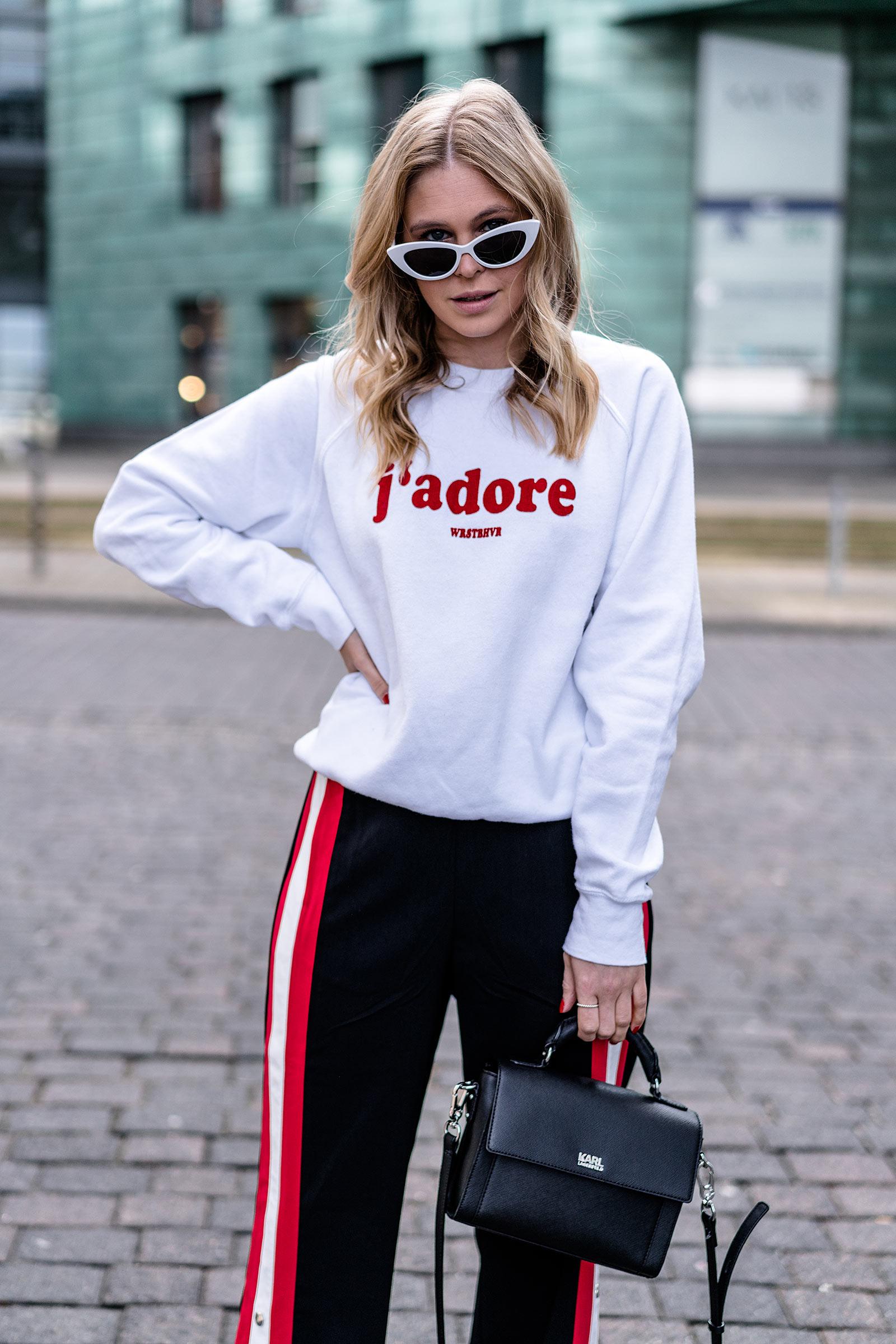 cat eye matrix sonnenbrille weiss outfit fashion blogger sunnyinga