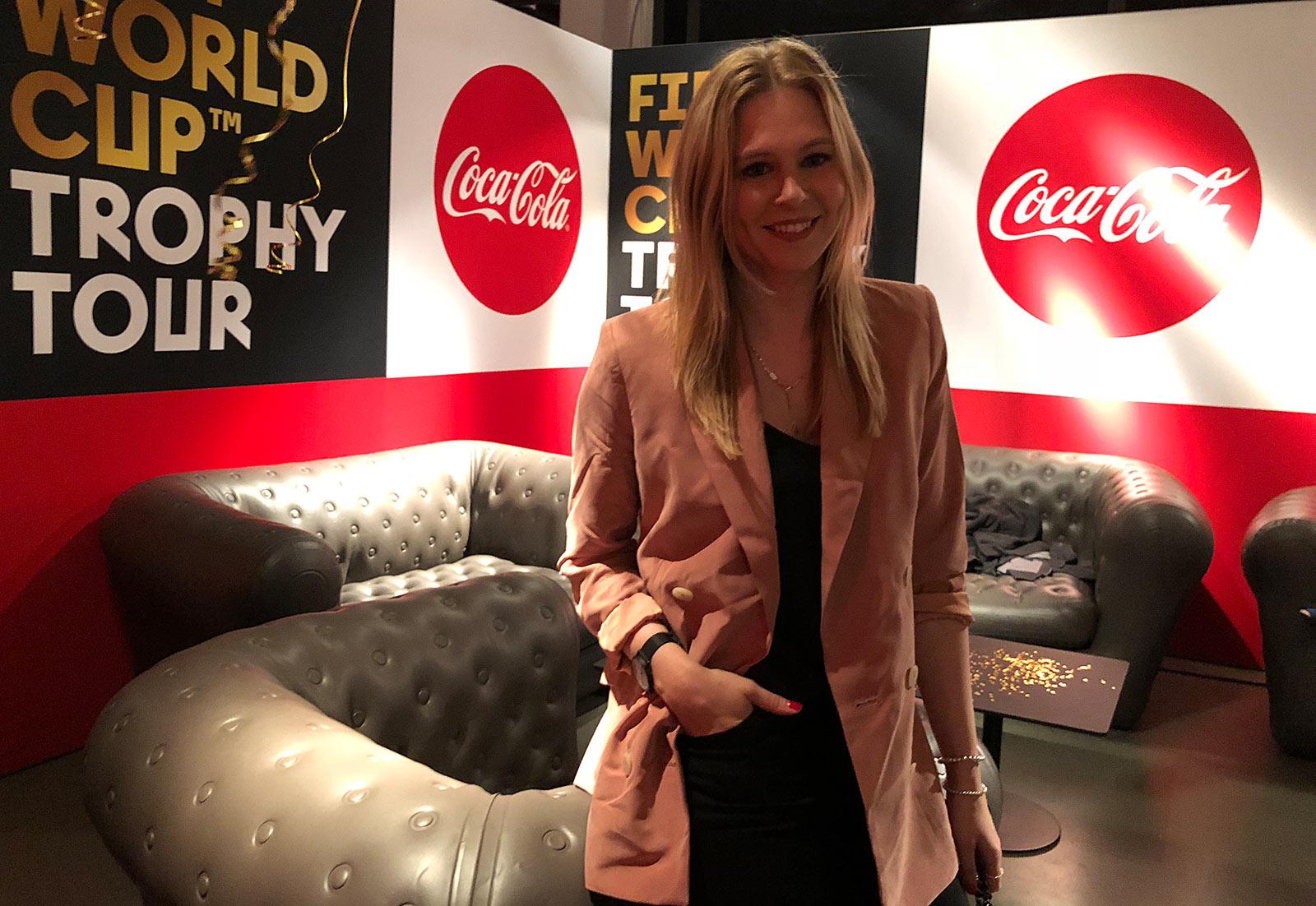 coca cola trophytour event köln weltmeister sunnyinga