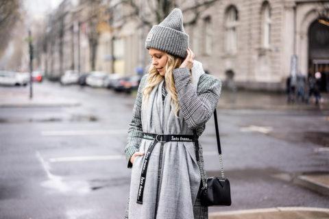 Coole Winter-Accessoires grau schwarz Fashion Blogger Sunnyinga
