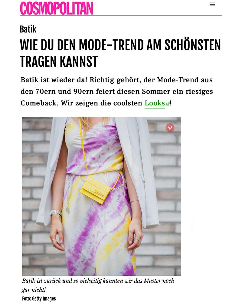 cosmopolitan batik trend inga brauer fashion bogger sunnyinga