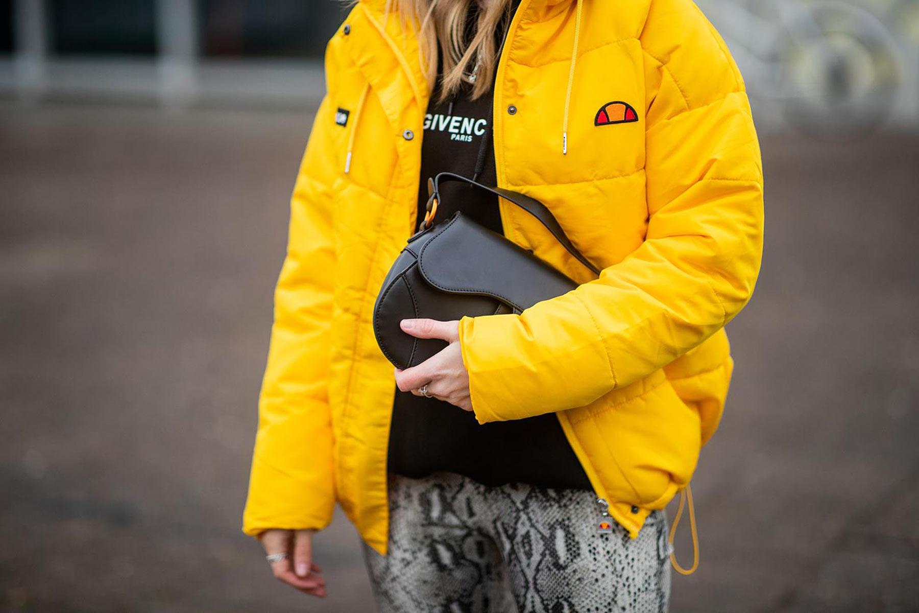 daunenjacke gelb ellesse fashion blogger sunnyinga
