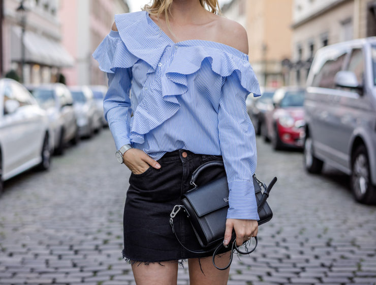 Designer Lookalike Bluse Self-Portrait Outfit Summer Fashion Blog Düsseldorf Sunnyinga