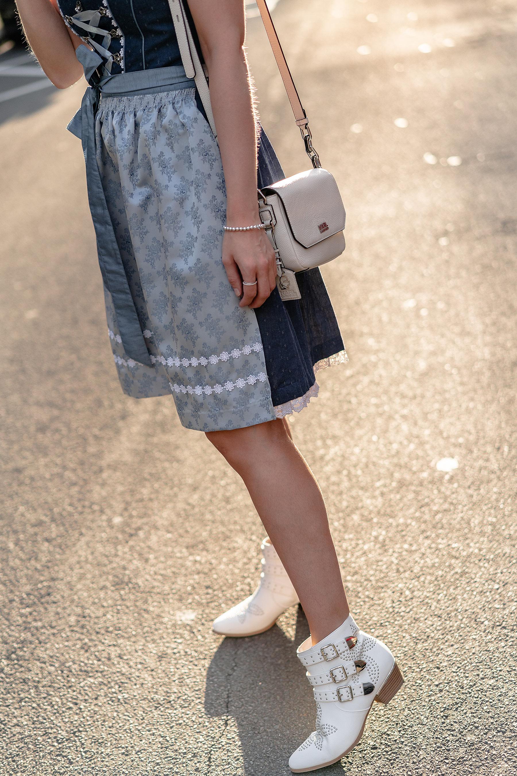dirndl schuhe stiefeletten weiss fashion blog sunnyinga