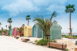 dubai la mer beach travel blog sunnyinga
