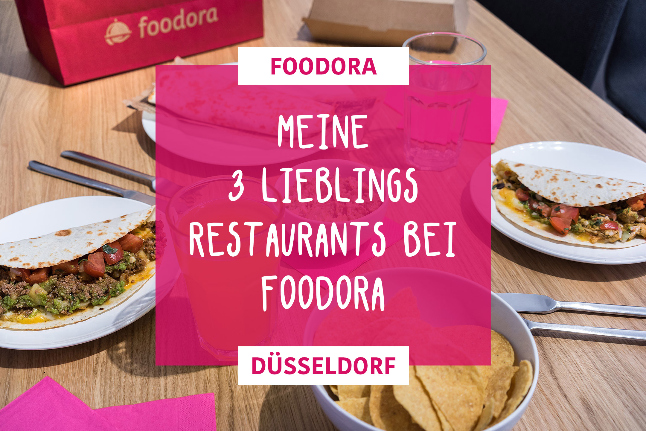 Foodora in Düsseldorf Casita Mexicana Essen Lifestyle Blog Sunnyinga