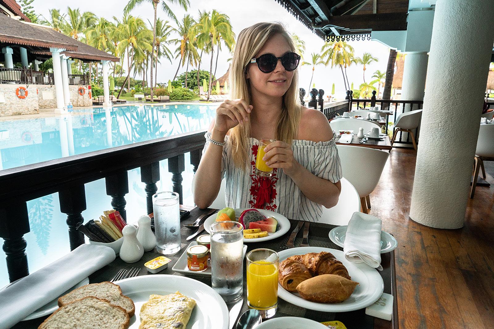 frühstück sofitel mauritius hotel review travel blogger sunnyinga