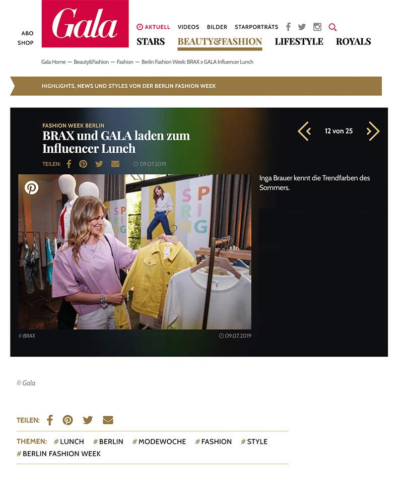 gala brax influencer lunch fashion week berlin inga brauer