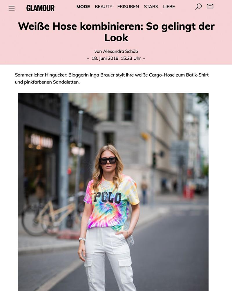 glamour weisse hose stylen fashion blogger inga brauer sunnyinga