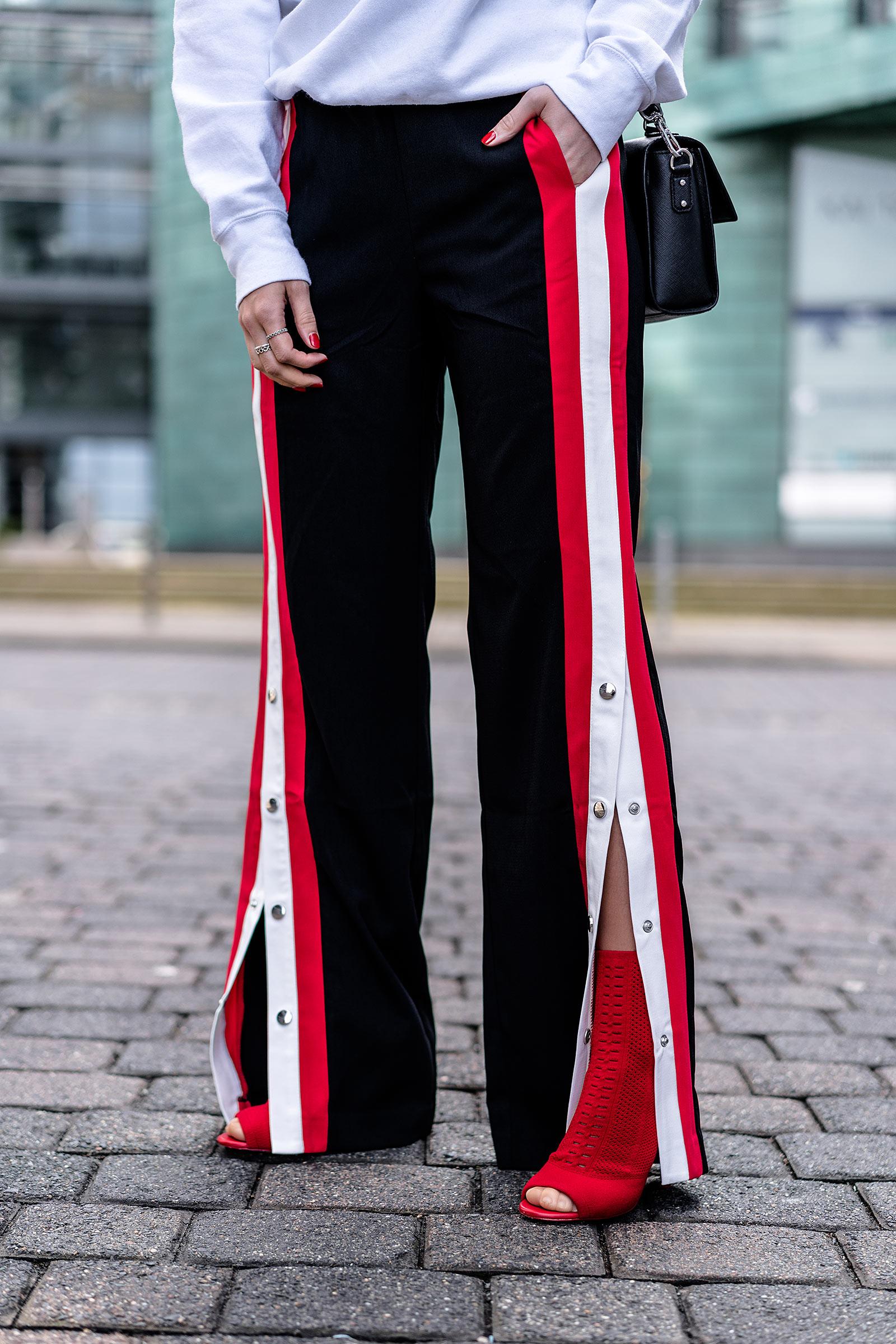 hose mit druckknöpfen stradivarius outfit fashion blogger sunnyinga