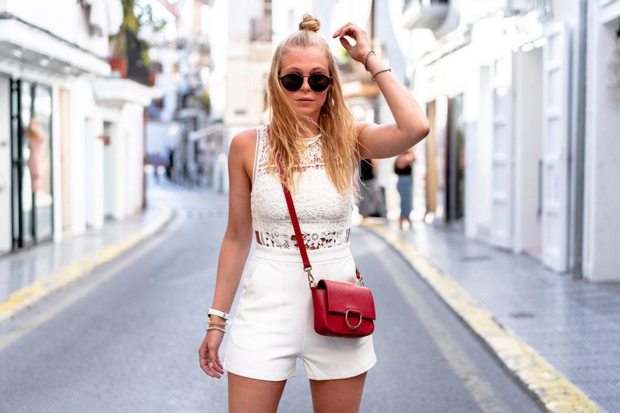 ibiza outfit jumpsuit weiss fashion blogger sunnyinga